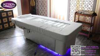 2015 MD-92 uxury electric water massage bed facial table water spa bed for beauty salon furniture