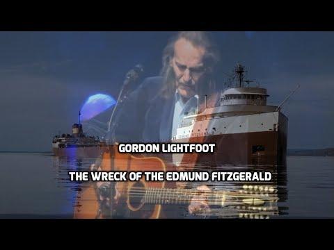 Gordon Lightfoot -  The Wreck Of The Edmund Fitzgerald ( Lyrics )