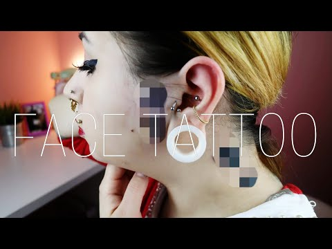 TATTOO IM GESICHT + Tattoo Story Update 💛