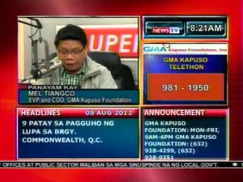 DB: Panayam kay Mel Tiangco, EVP and COO, GMA Kapuso Foundation