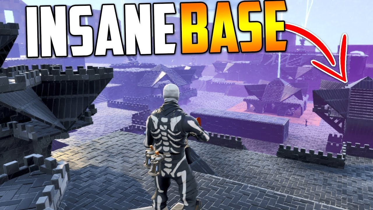 3 Insane Storm Shield Base Designs In Fortnite Save The World Youtube