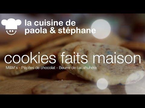 recette-de-cookies:-m&m's-/-beurre-de-cacahuète-/-pépites-de-chocolat