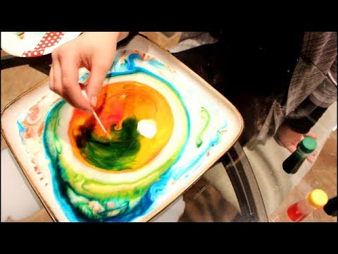 Quick and Easy Fun Project - COOL COLORS EXPERIMENT that you can do at home. Easy DIY Fun