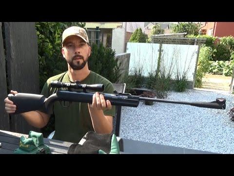 Ruger air scout kit luftgewehr mit zielfernrohr 4x32 youtube