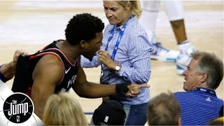 LeBron, others call for harsher punishment for Warriors investor after Kyle Lowry shove   The Jump