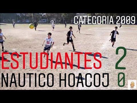 ESTUDIANTES Vs NAUTICO HACOAJ (Categoría 2009)