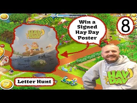 Hay Day - Win a Signed Hay Day Poster - Letter Hunt Giveaway Eight