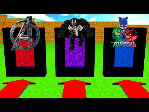 Do Not Choose The Wrong Portal (Avengers, Venom, PJ Masks)
