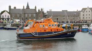 Queens Baton arrives in Kirkwall orkney islands 2014