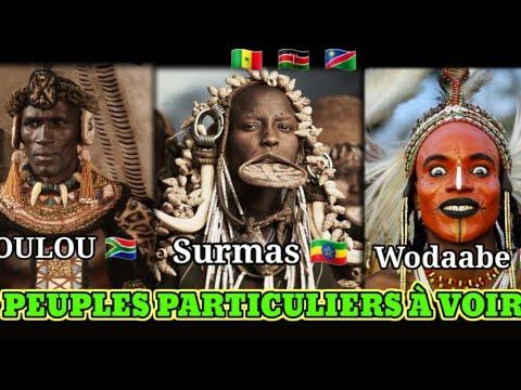 Download 7 Tribus africains à découvrir 1/2 : Vous serez fasciné par leur tradition et leur culture !