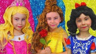 Alice y sus hermosas princesas se visten | Compilación historias para niños
