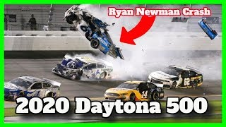 2020 Daytona 500: Ryan Newman Crash On Last Lap (Hospitalized)