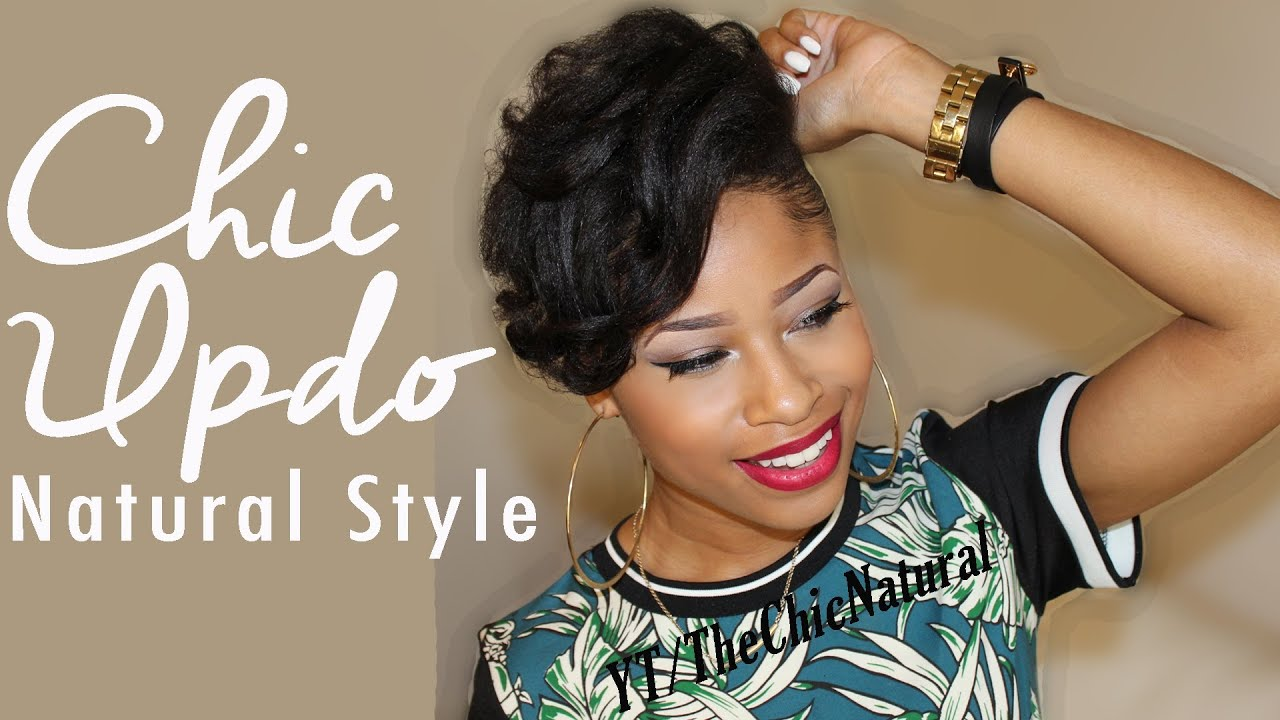 Videos Of Natural Hair Styles Inspiration Fly Spring Summer Style  Natural Hair Tutorial  Youtube