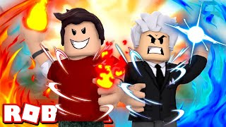 Roblox - ELEMENTAIS POWERS! (Elemental Battlegrounds)