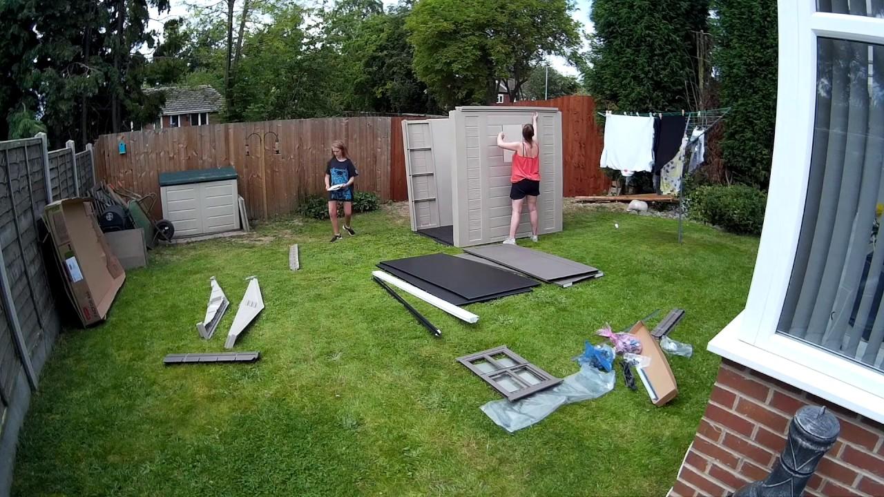 keter garden shed 6x6 by richard heaton
