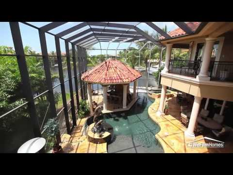 Exquisite Custom Home With Direct Gulf Access- Fort Myers, Florida Real Estate