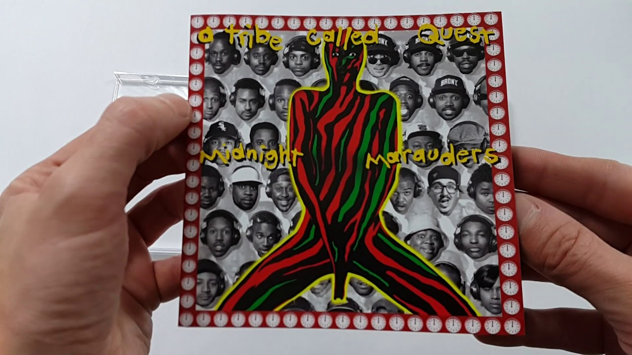 "Unboxing: A TRIBE CALLED QUEST ""MIDNIGHT MARAUDERS"""