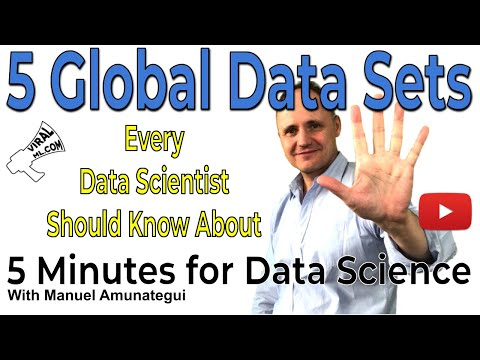 5 Global Data Sources Every Data Scientist Should KnowAbout! Build Great Machine Learning Models