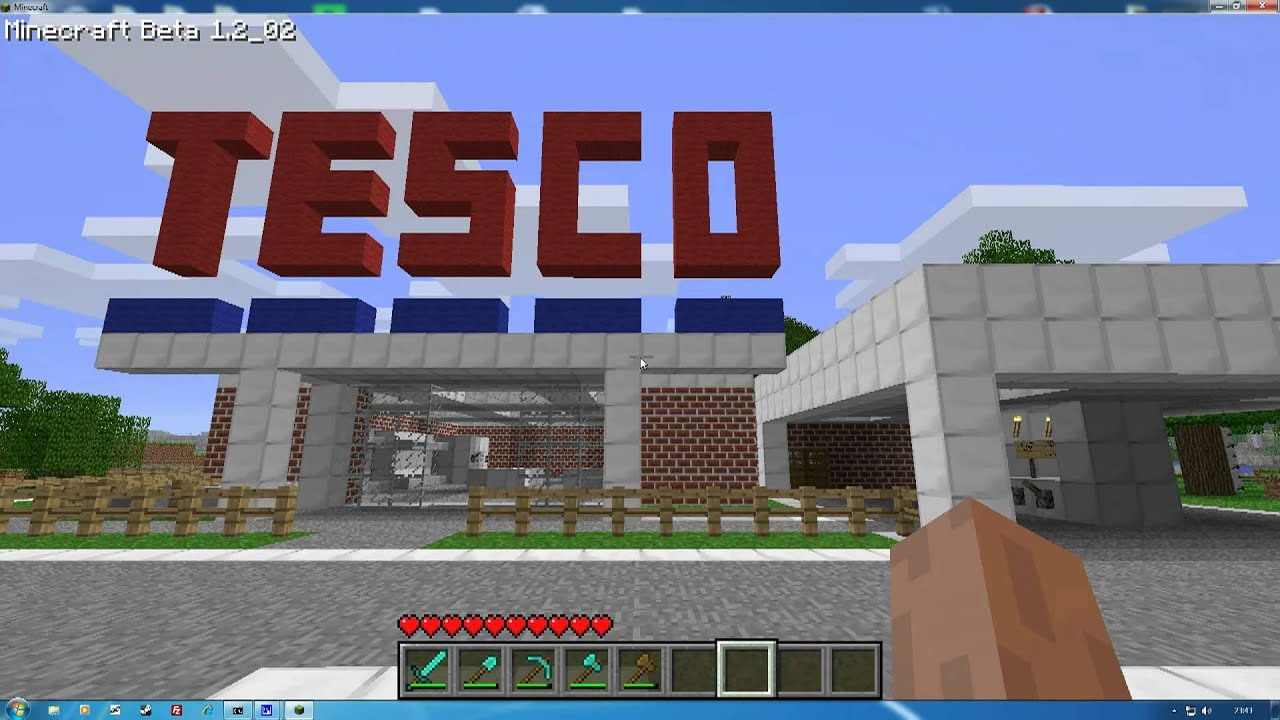 Tesco in minecraft youtube gumiabroncs Choice Image