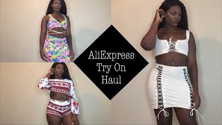Slim Thick AliExpress Try On Haul #1