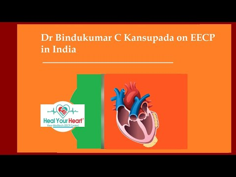 dr bindukumar c kansupada on eecp in india