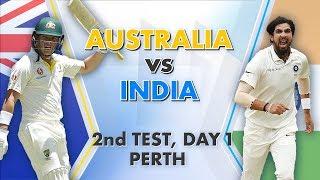 Australia vs India, 2nd Test, Day 1: Match Story