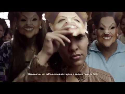 El nuevo spot de Daniel Scioli, idéntico a un video contra Dilma Rousseff en Brasil