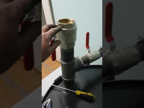 Гидропневмаческая промывка системы отопления