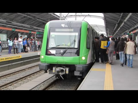 Tramo 2 Linea 1 del Metro de Lima, Perú (San Juan de Lurigancho)