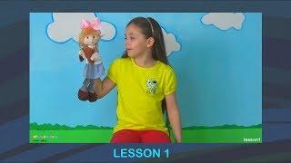 Английский для детей. Урок 1. Учимся здороваться, представляться и прощаться