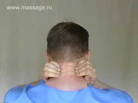 Neck Selfmassage :: Самомассаж шеи (russian)