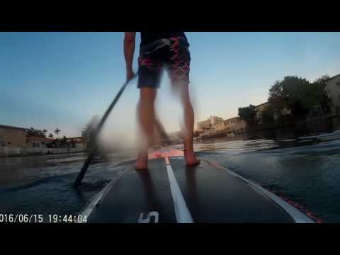 Paddle Boarding Normandy & Biscayne Point Miami Beach