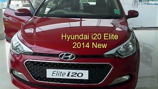 hyundai elite i20 latest car price review india 2014