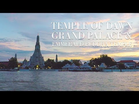 Bangkok Tour - Temple of Dawn + Grand Palace & Emerald Buddha Temple