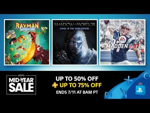 Best of the PlayStation Mid-Year Sale (June - July 2017)