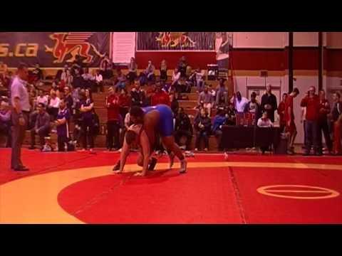 2014 Guelph Open: 125 kg Rysiek Kolanko vs. Patrick Okpalugo
