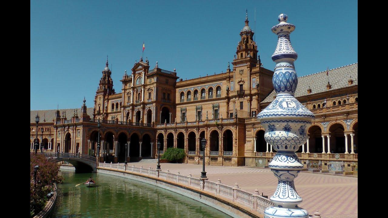 Spain - Sevilla Plaza De Espa