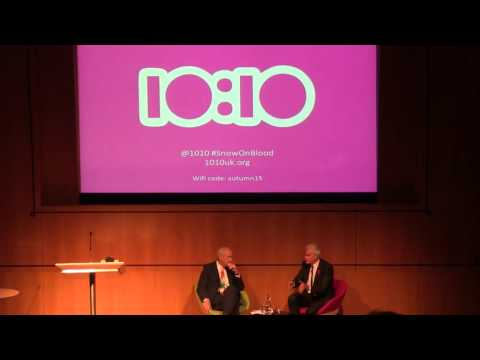 Jon Snow discusses climate change and sustainability with David Blood