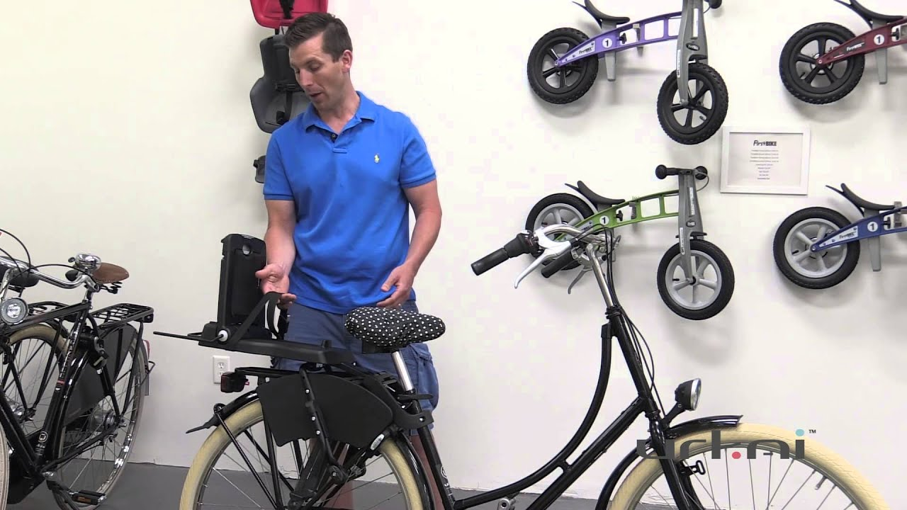 how to choose a child bike seat