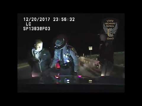 Video shows Cleveland police officer get his second drunken-driving arrest