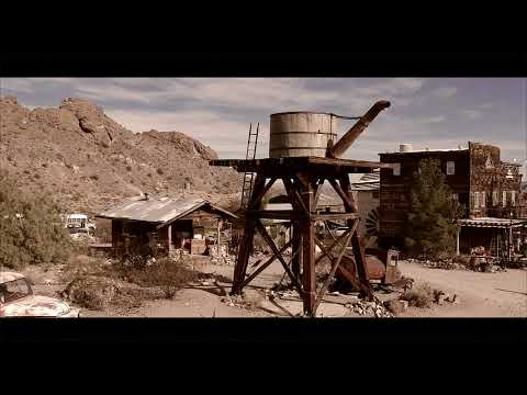 Ghost Town Nelson NV (DJI Spark)
