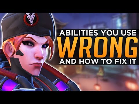 Overwatch: Hero Abilities EVERYONE Uses WRONG!