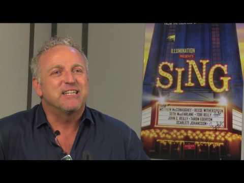 Gordon over zijn rol als Gunther in Sing (deel 1)