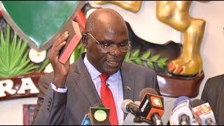 Chebukati assumes office, pledges free and fair August poll