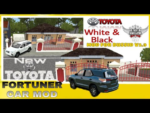 BUSSID V2 9|Toyota Fortuner Car Mod 2019|Indian Toyota Car mod For Bus  Simulator Indonesia|