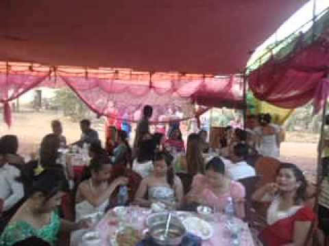 đám cưới dì bên cambodia