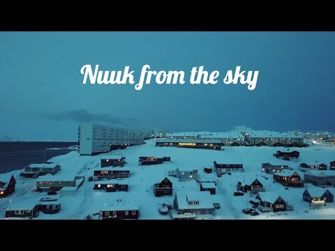 Nuuk (Greenland) - 4K drone footage