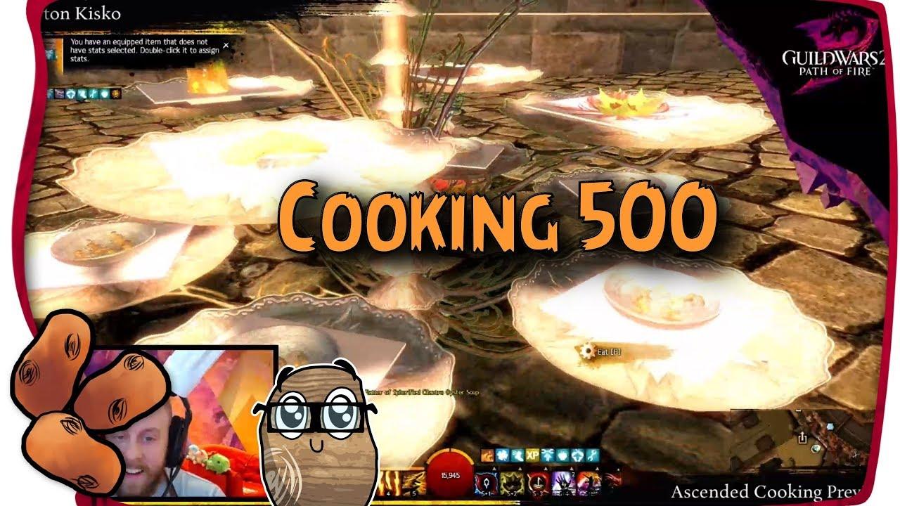 Cooking 500 Details Revealed Ascended Consumables Arrive Guild Wars 2
