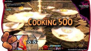Cooking 500 Details Revealed | Ascended Consumables Arrive - Guild Wars 2