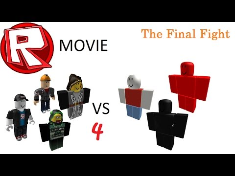 Thumbnail: Admins VS Hackers 4 - The Final Fight - ROBLOX Movie by Roblox Minigunner